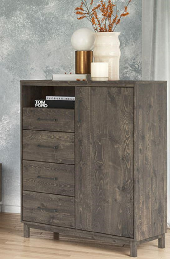 Cypress 1 Dr/4 Dwr Armoire by Defehr at Stoney Creek Furniture