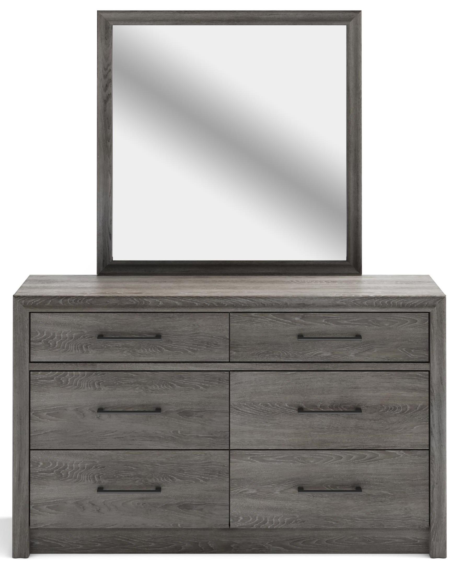 511 Westpoint Landscape Mirror by Defehr at Stoney Creek Furniture