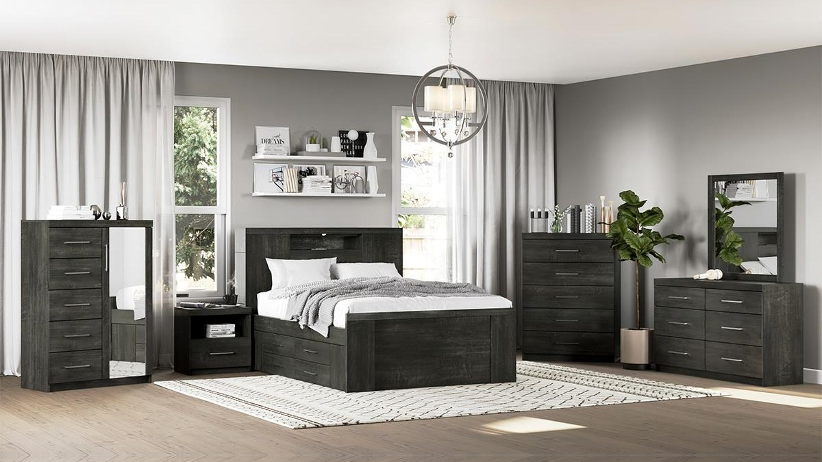 534 Armoire, 6 Drawer by Defehr at Stoney Creek Furniture