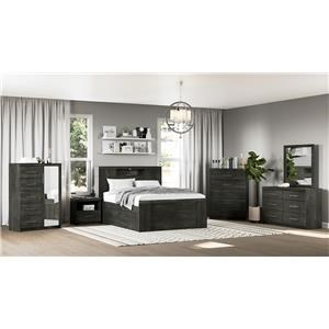 Armoire, 6 Drawer
