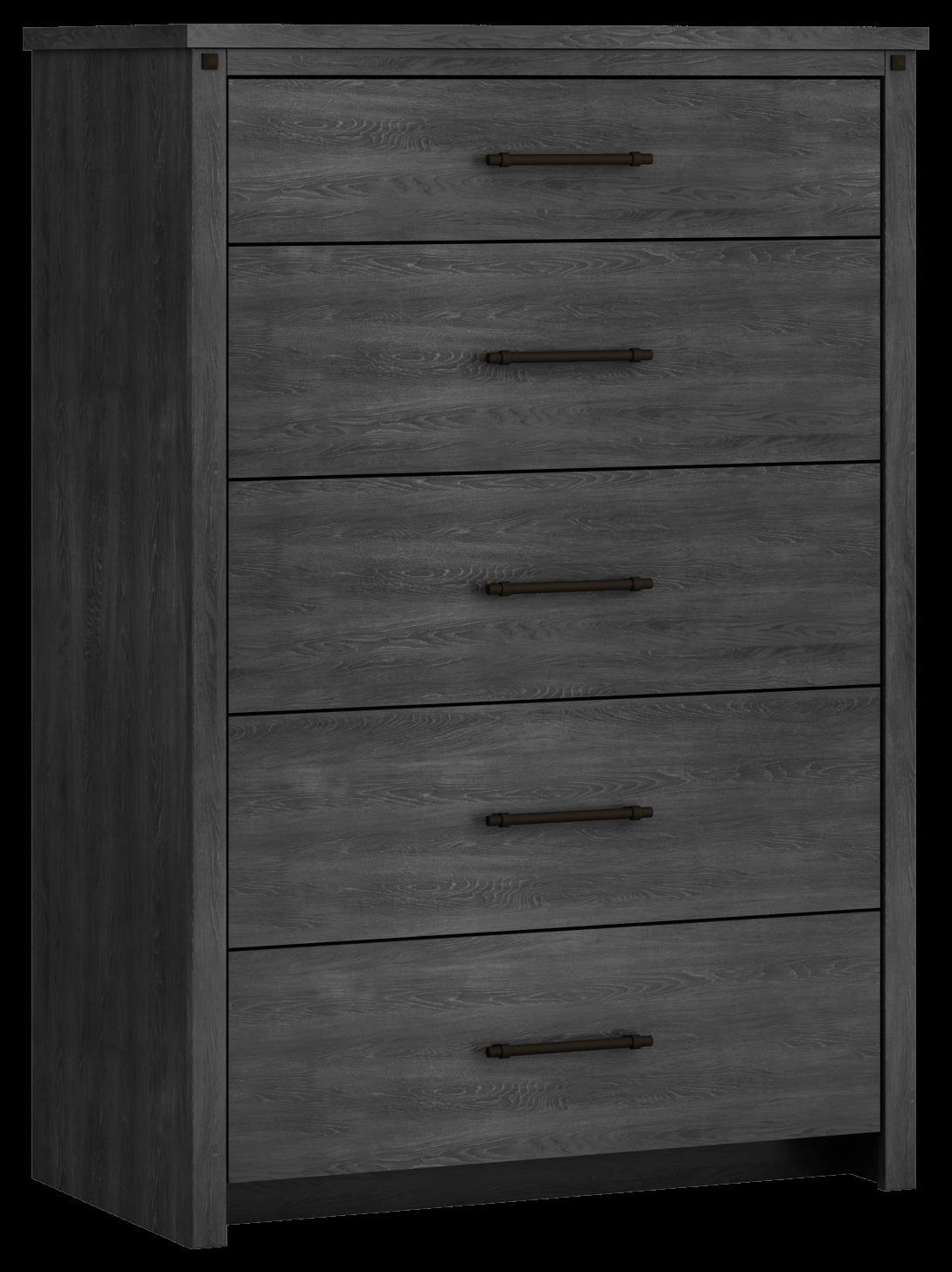 607 Chest , 6 drawer - Driftwood by Defehr at Stoney Creek Furniture
