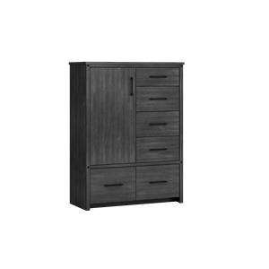 Armoire, 1 door, 6 drawer