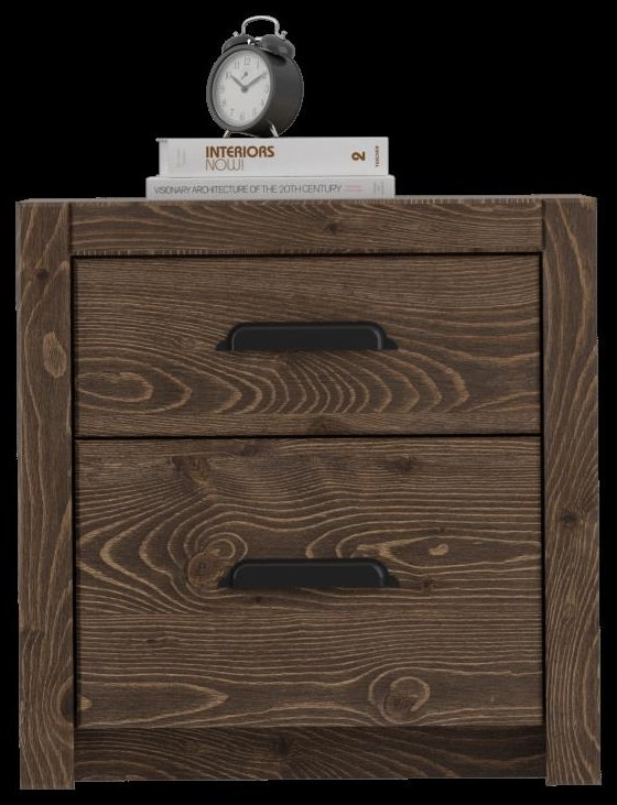 650 Night Stand - 2 drawer by Defehr at Stoney Creek Furniture