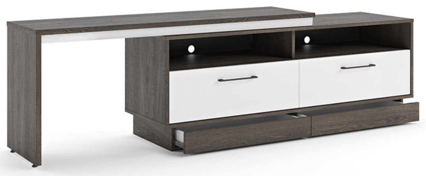 Amsterdam Console with Extentions by Defehr at Stoney Creek Furniture