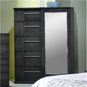 Contemporary Chiffonier with Mirror