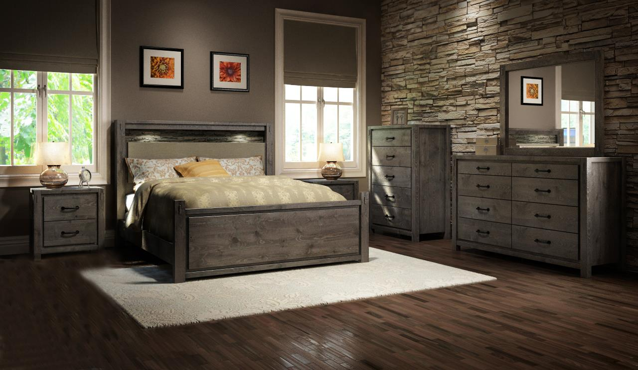 Series 697 Queen Bedroom Group by Defehr at Stoney Creek Furniture