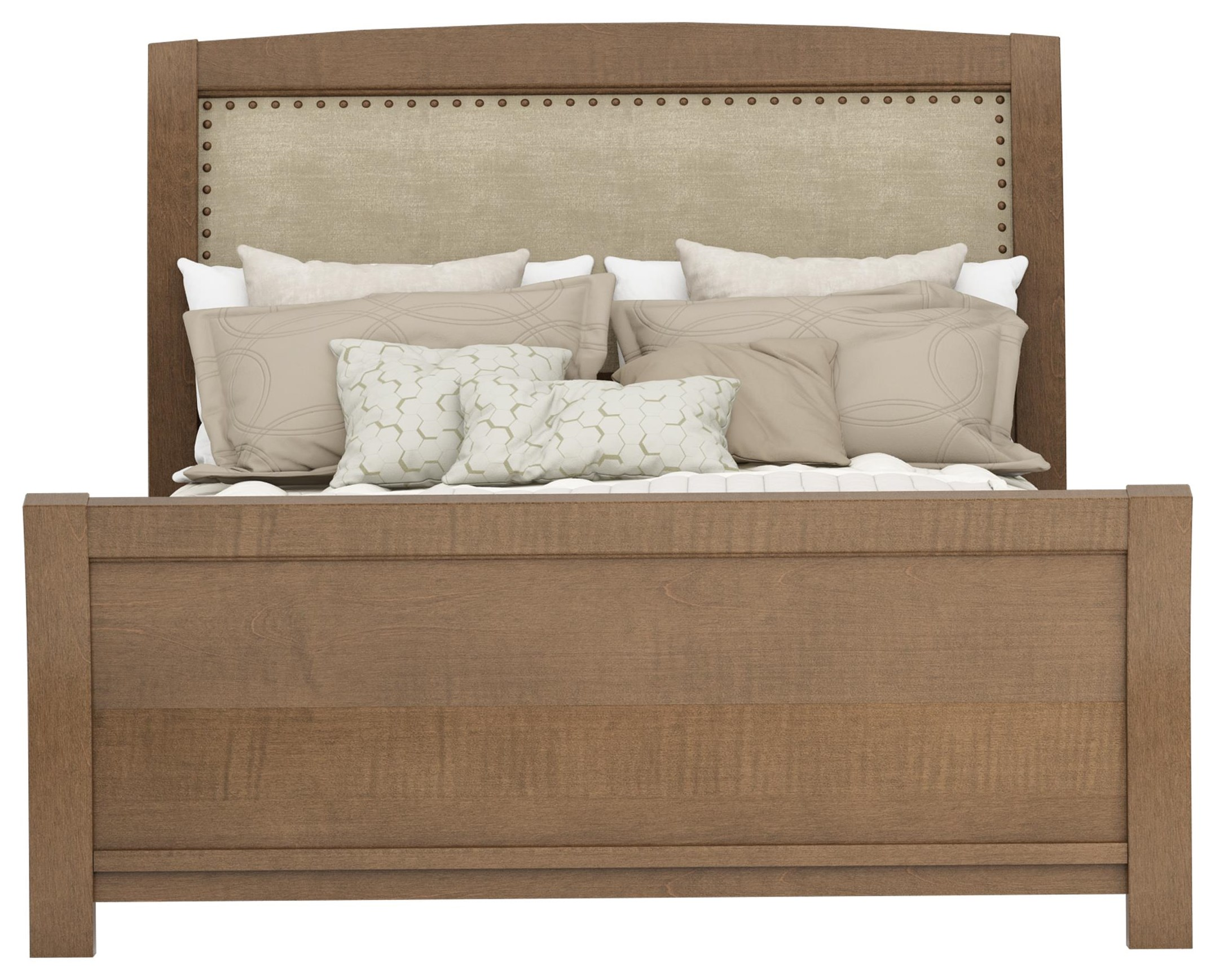 Sienna Queen Upholstered Bed with Speakers by Defehr at Stoney Creek Furniture