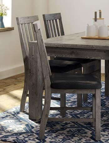 Stockton STOCKTON DINING CHAIR/SLATE by Defehr at Stoney Creek Furniture