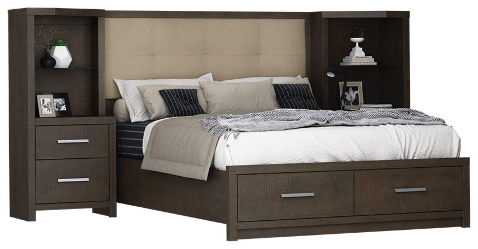 Windsor Queen Storage Bed by Defehr at Stoney Creek Furniture