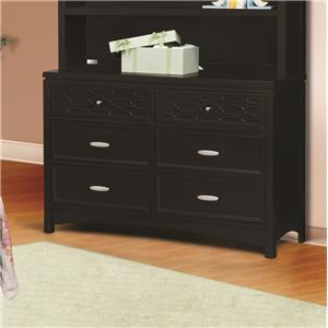 Simmons Kids Callisto Double Dresser