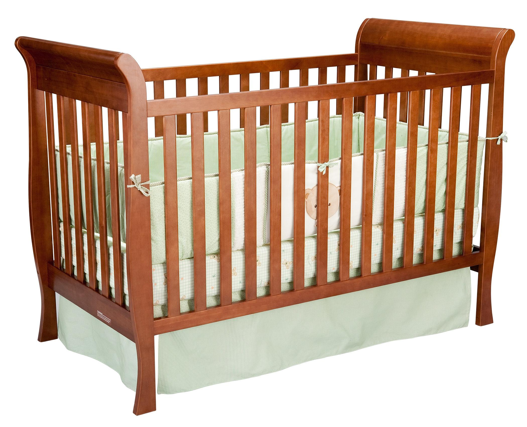 Glenwood Sleigh Crib by Delta Children's Products at Arwood's Furniture