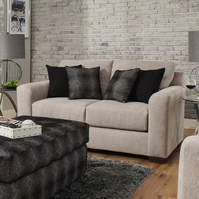 4100 Loveseat by Delta Furniture Manufacturing at Dream Home Interiors