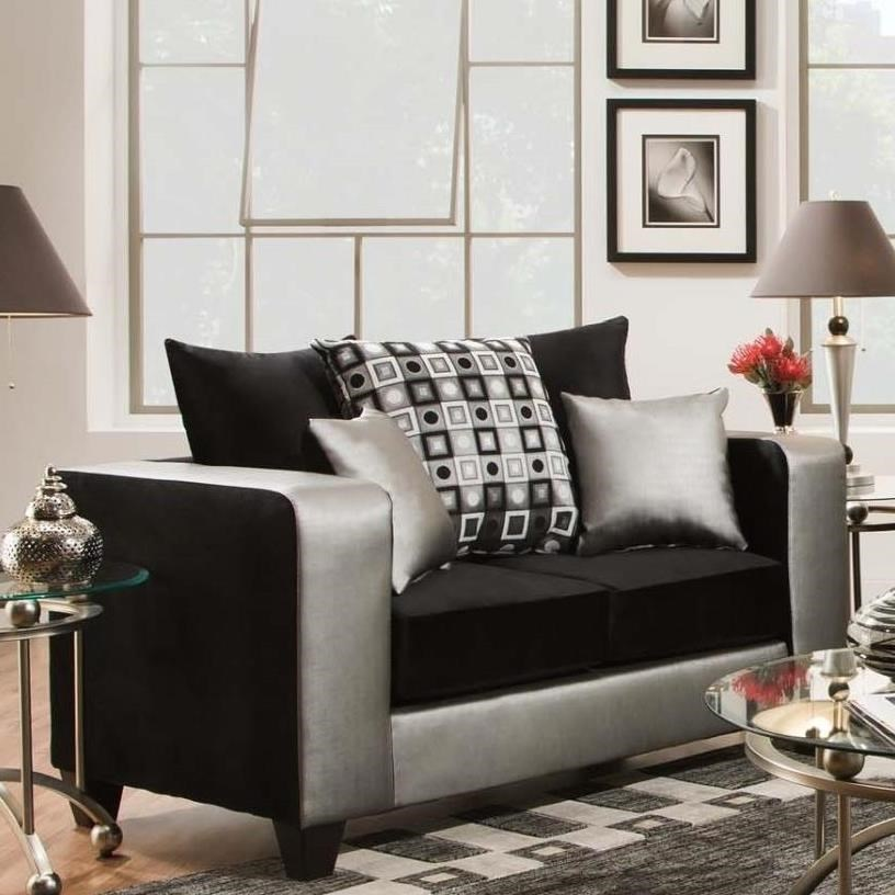 4120 Love Seat by Delta Furniture Manufacturing at Dream Home Interiors