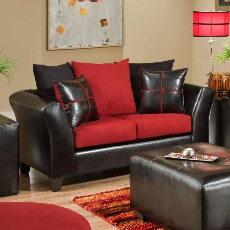 4170 Love Seat by Delta Furniture Manufacturing at Dream Home Interiors