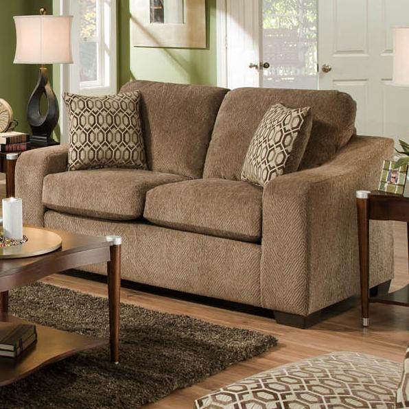 Texaco Group Loveseat by Delta Furniture Manufacturing at Dream Home Interiors