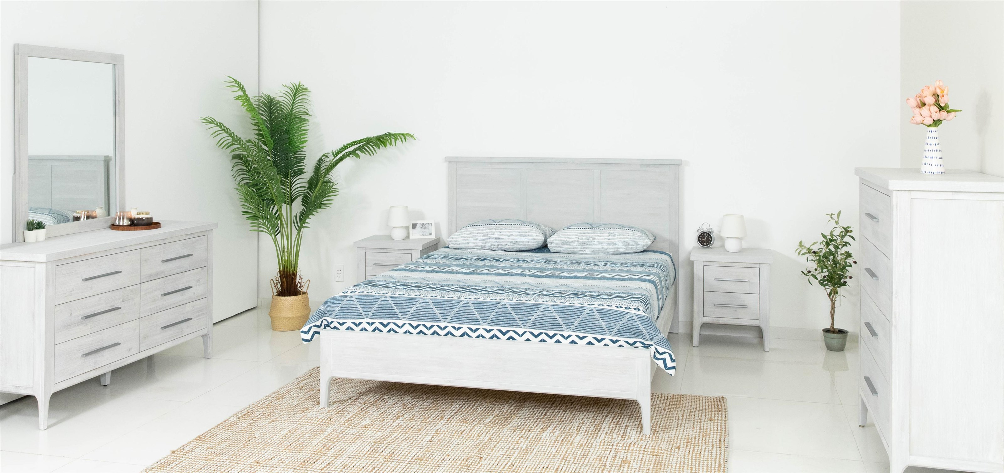 Morgan 4 Piece Queen Bedroom Set by Design Evolution at Red Knot
