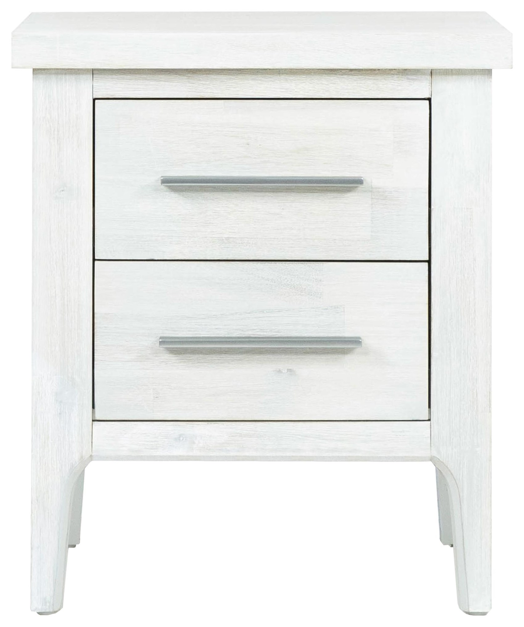 Morgan 2 Drawer Nightstand by Design Evolution at Red Knot