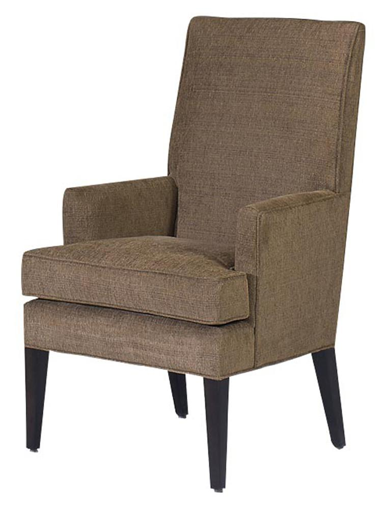 Chairs  Roland Spring Down Seat Arm Chair by Designmaster at Alison Craig Home Furnishings