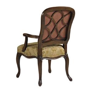 Designmaster Chairs  Lucerne Carved Arm Chair