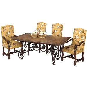 Designmaster Tables Larkspur Table with Wood Top