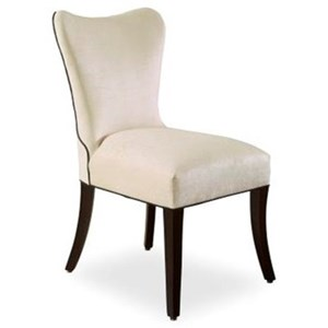 Denmark Winged Back Studio Side Chair