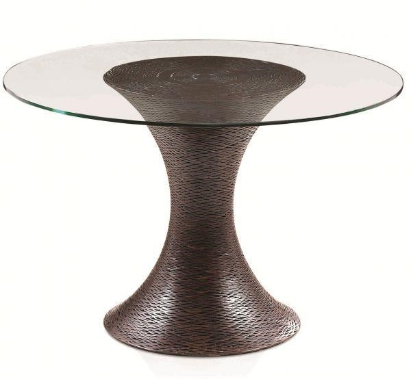 "Equinox 42"" Dining Table by C.S. Wo & Sons at C. S. Wo & Sons California"