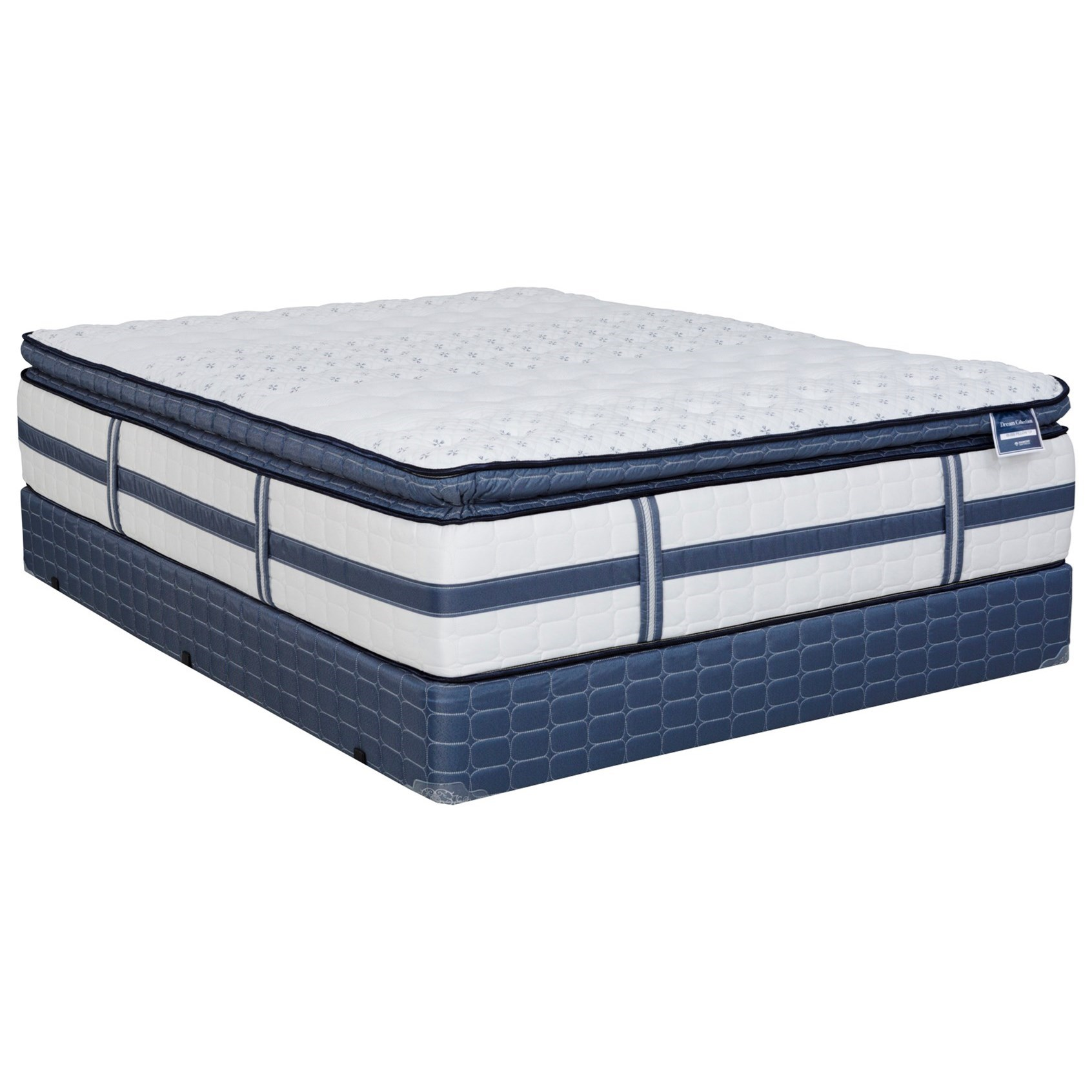 Cal King Plush Pillow Top Mattress Set
