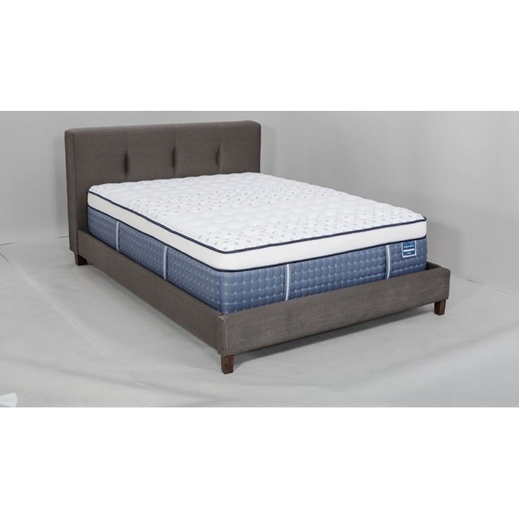 Queen Plush Euro Top Mattress Set