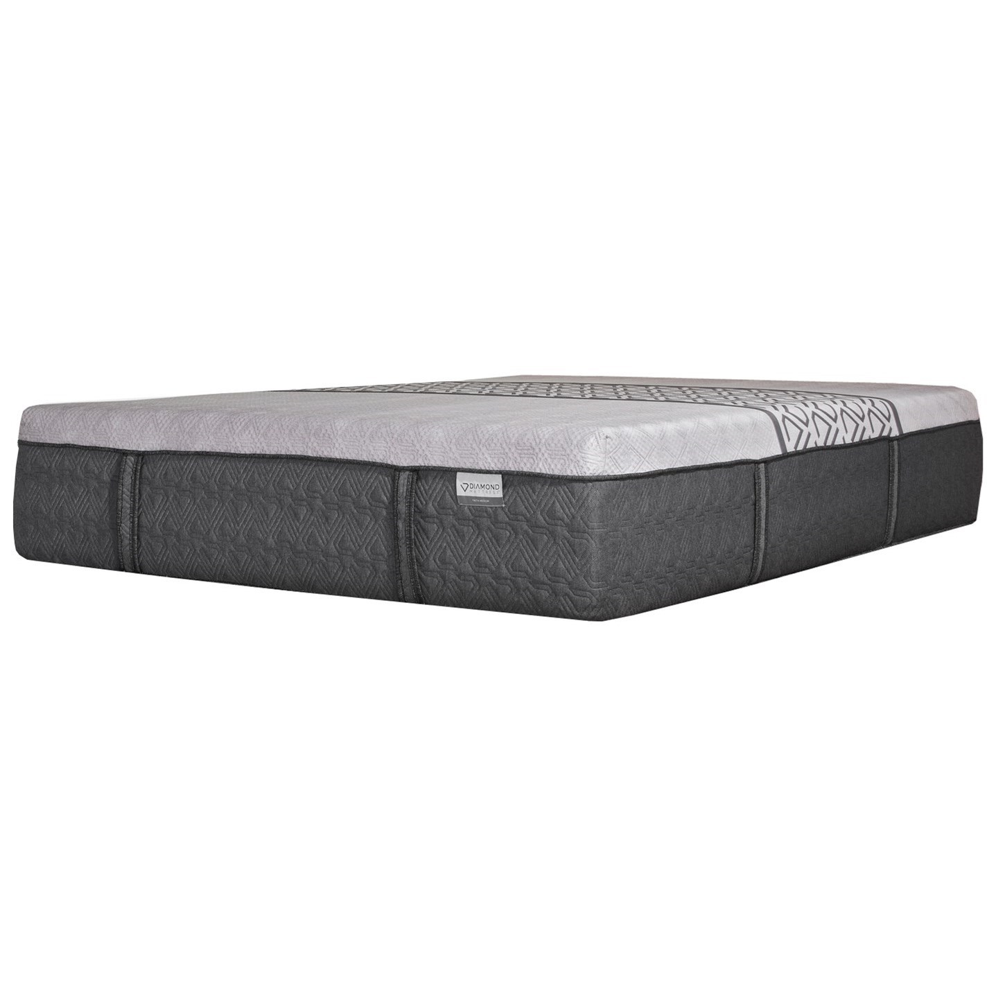 Faith Medium Twin XL Medium Hybrid Mattress by Diamond Mattress at Zak's Home