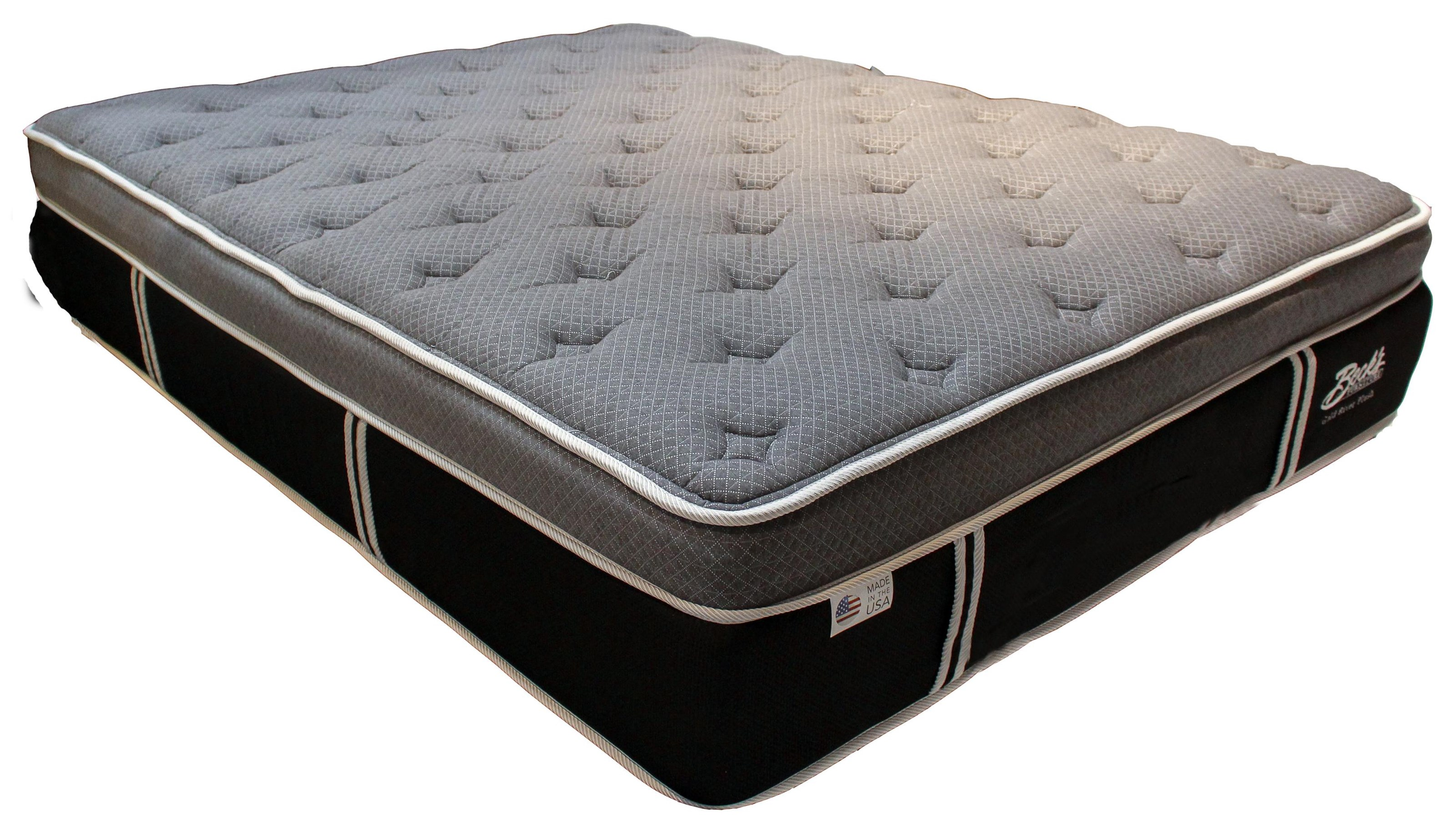 Gold River Full Plush Mattress by Diamond Mattress at Beck's Furniture