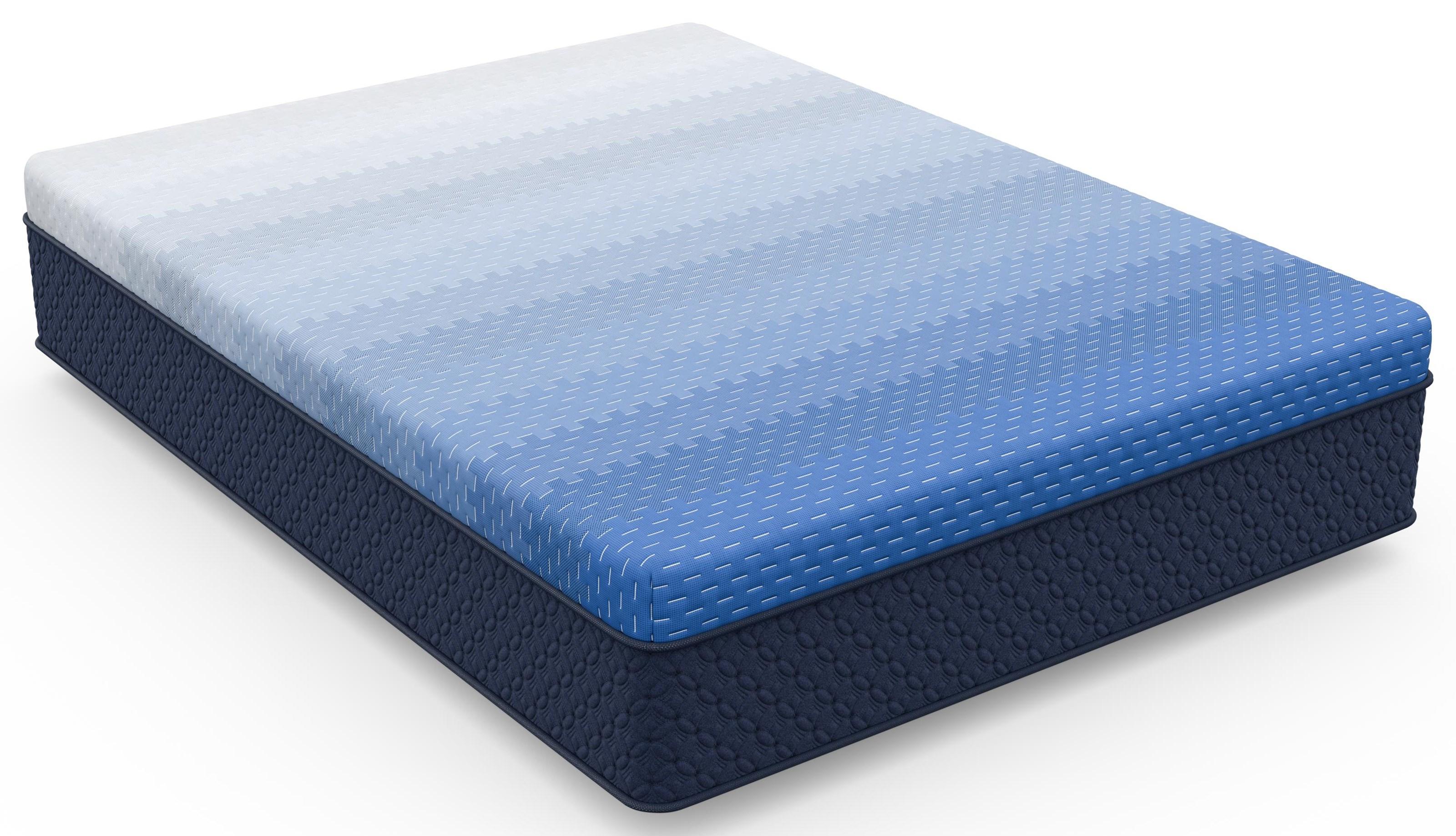 Lake Tahoe King Firm Gel Cooling Memory Foam Mattre by Diamond Mattress at Beck's Furniture