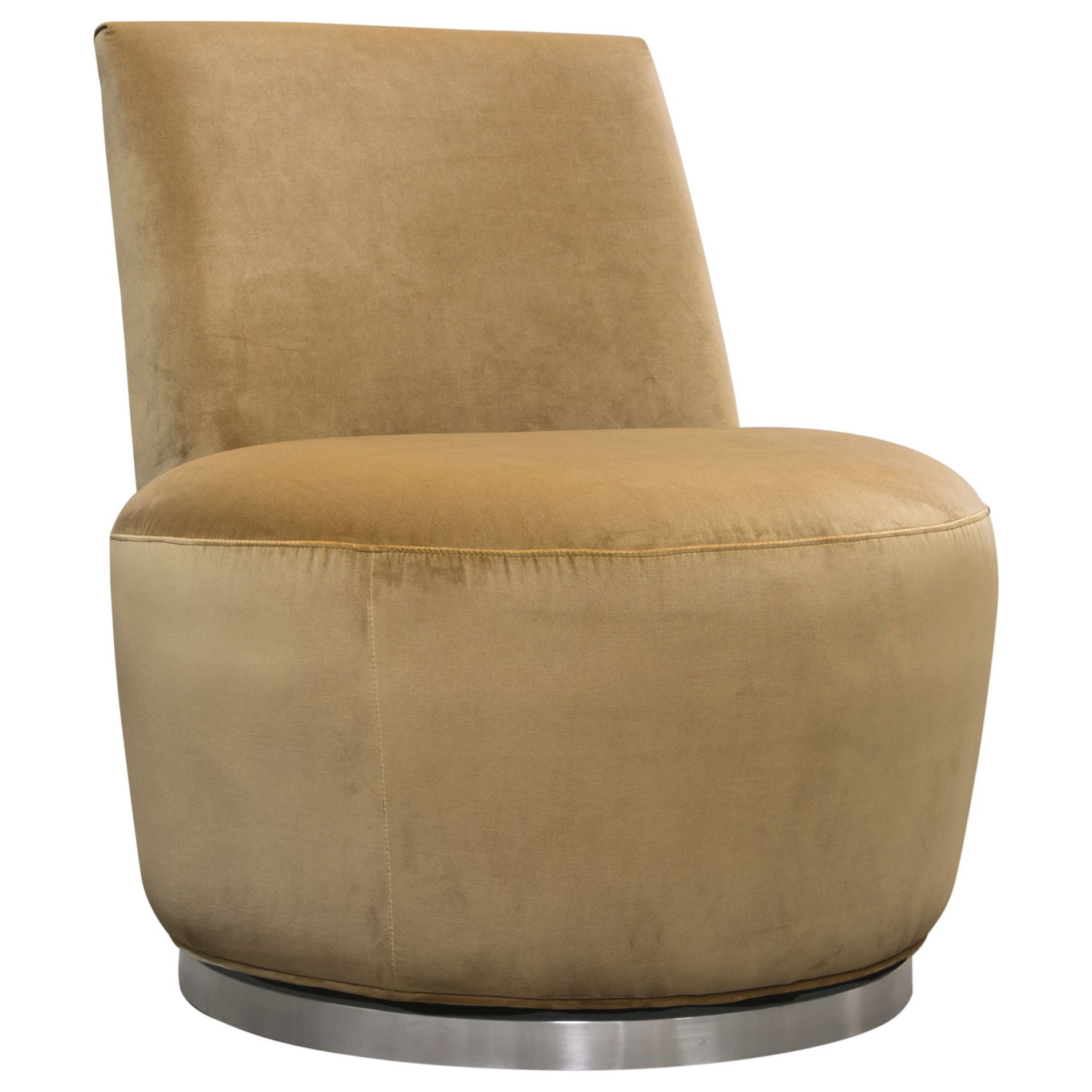 Blake Swivel Accent Chair by Diamond Sofa at Red Knot