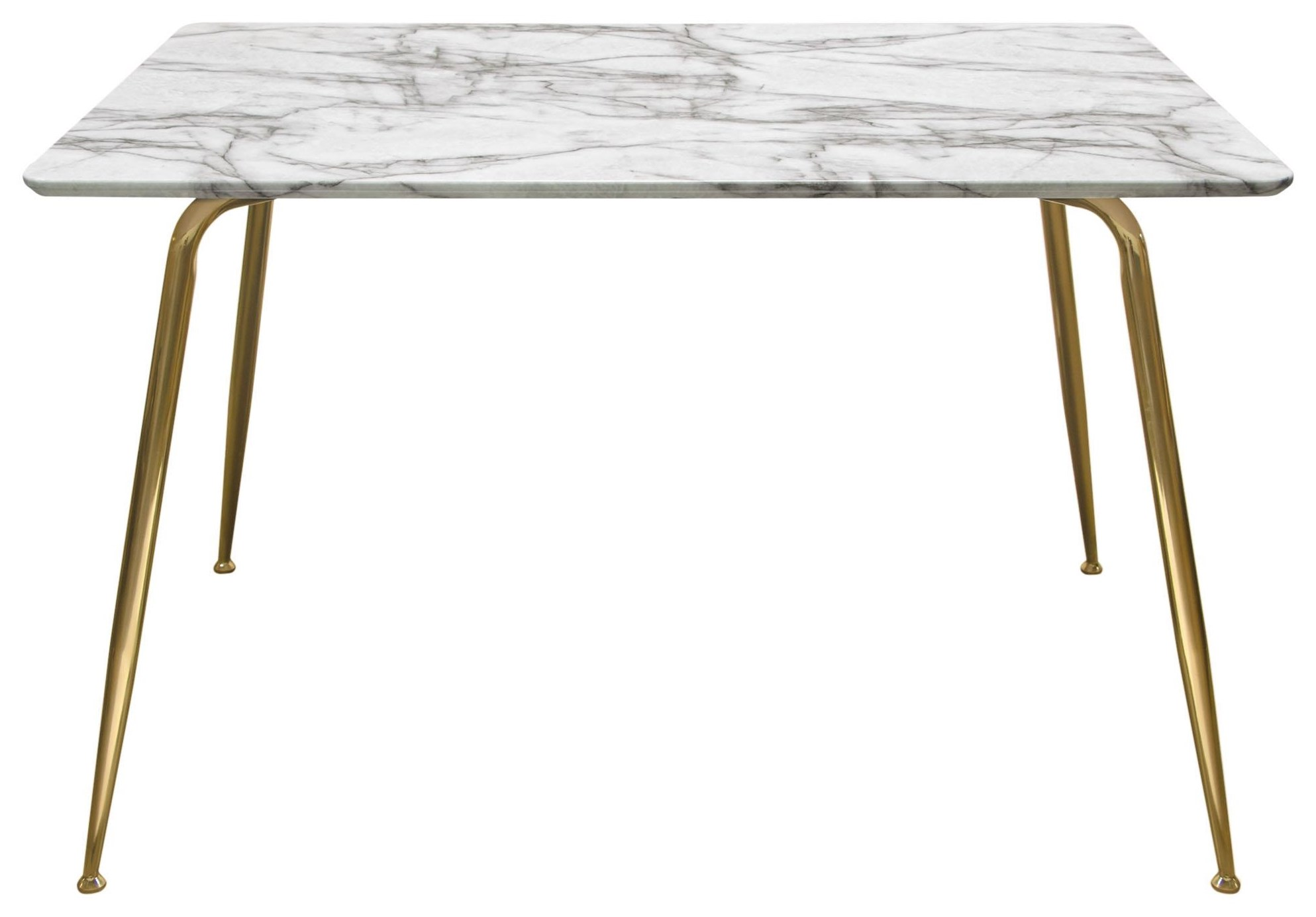 Chance Dining Table by Diamond Sofa at Red Knot