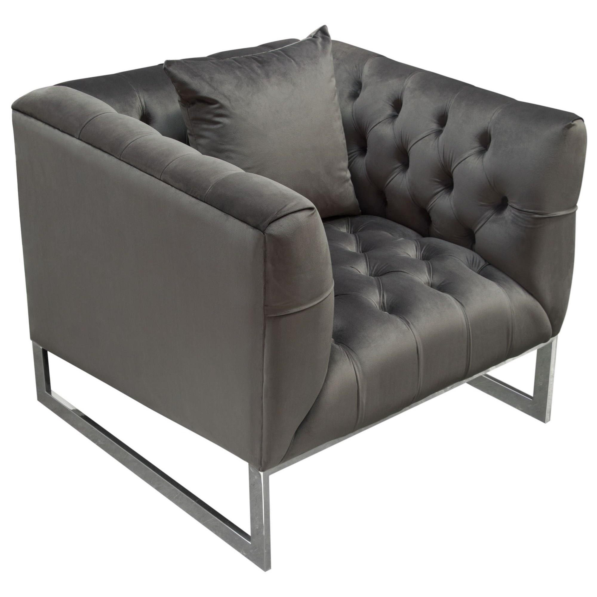 Crawford Chair by Diamond Sofa at Red Knot