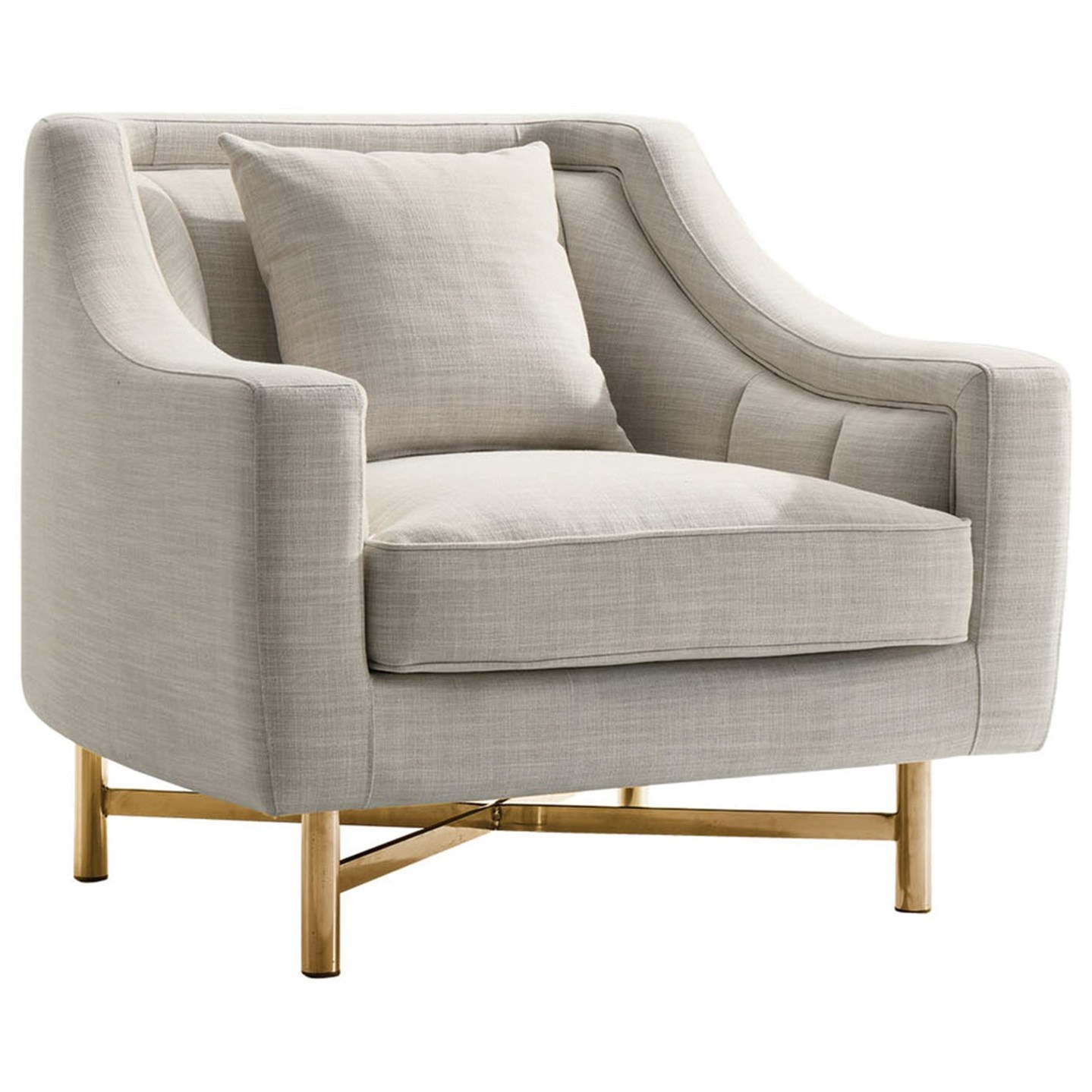 Croft Chair by Diamond Sofa at Red Knot