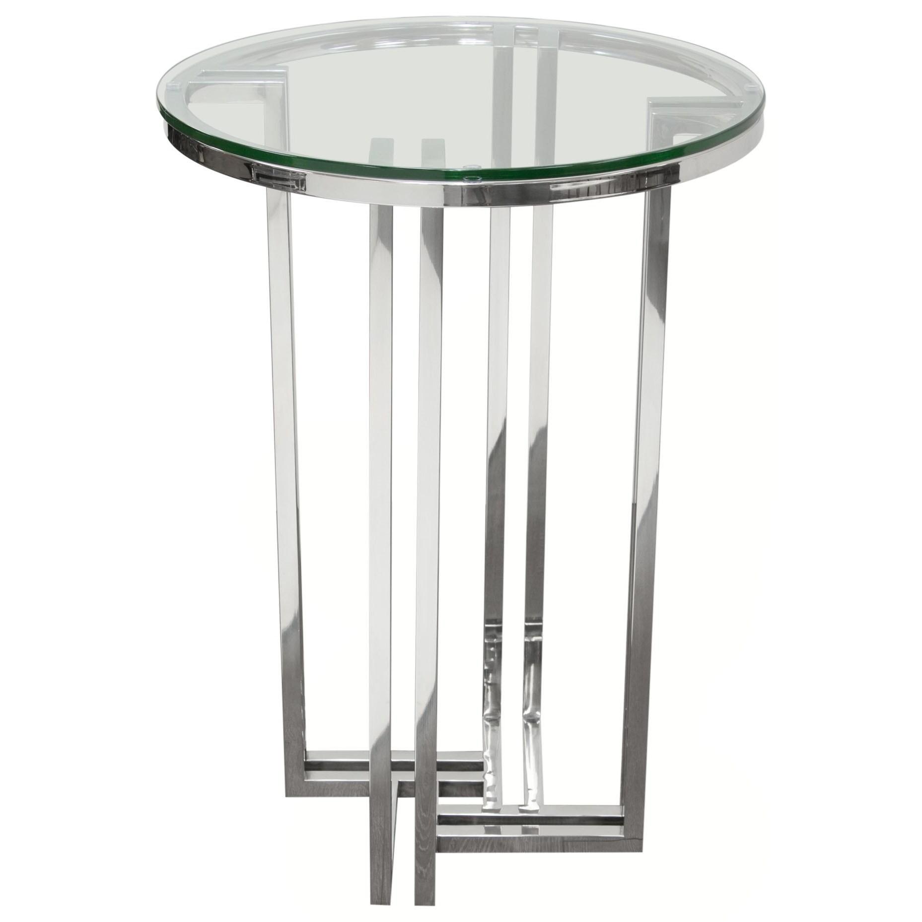 Deko Accent Table by Diamond Sofa at HomeWorld Furniture