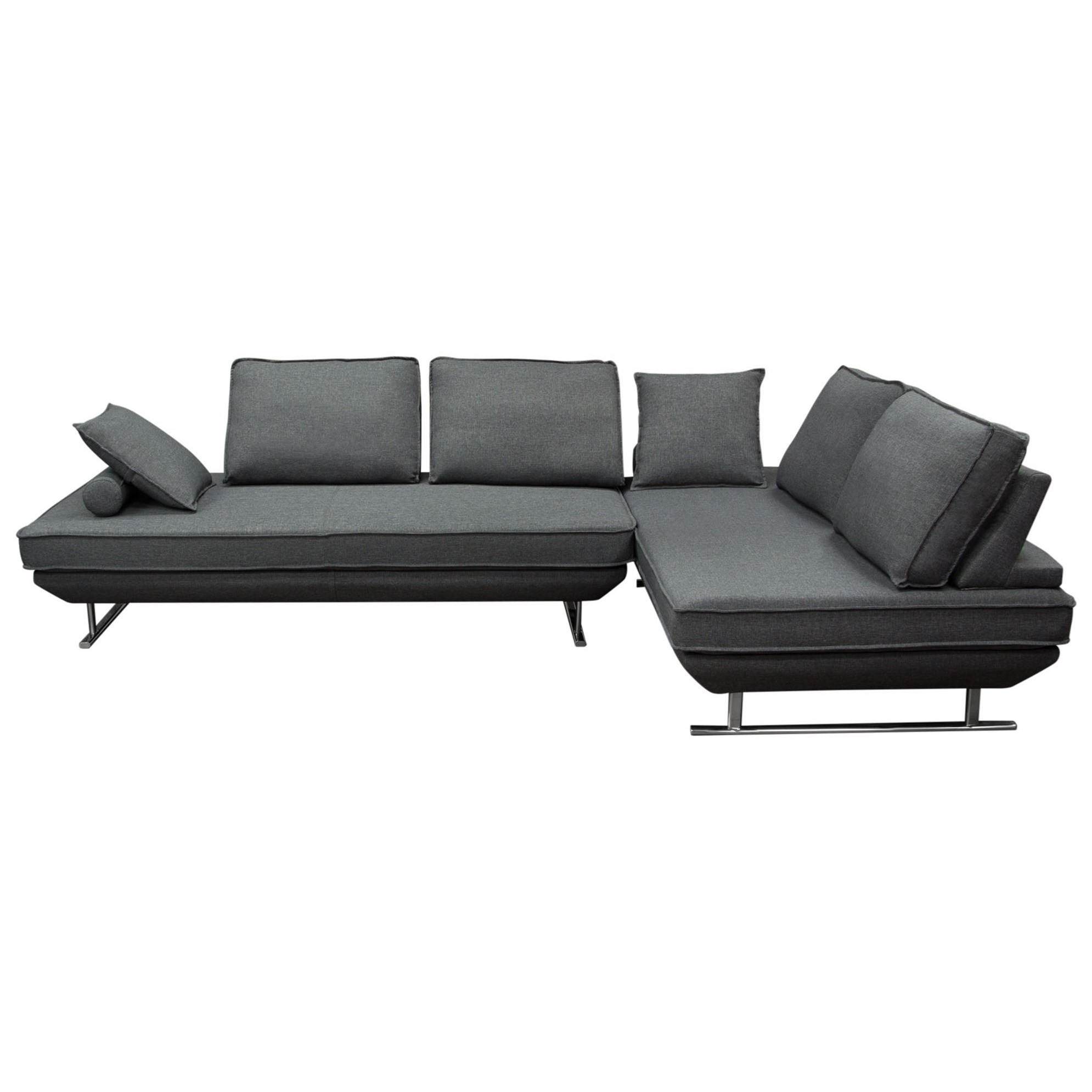 Dolce Lounger Sectional by Diamond Sofa at HomeWorld Furniture