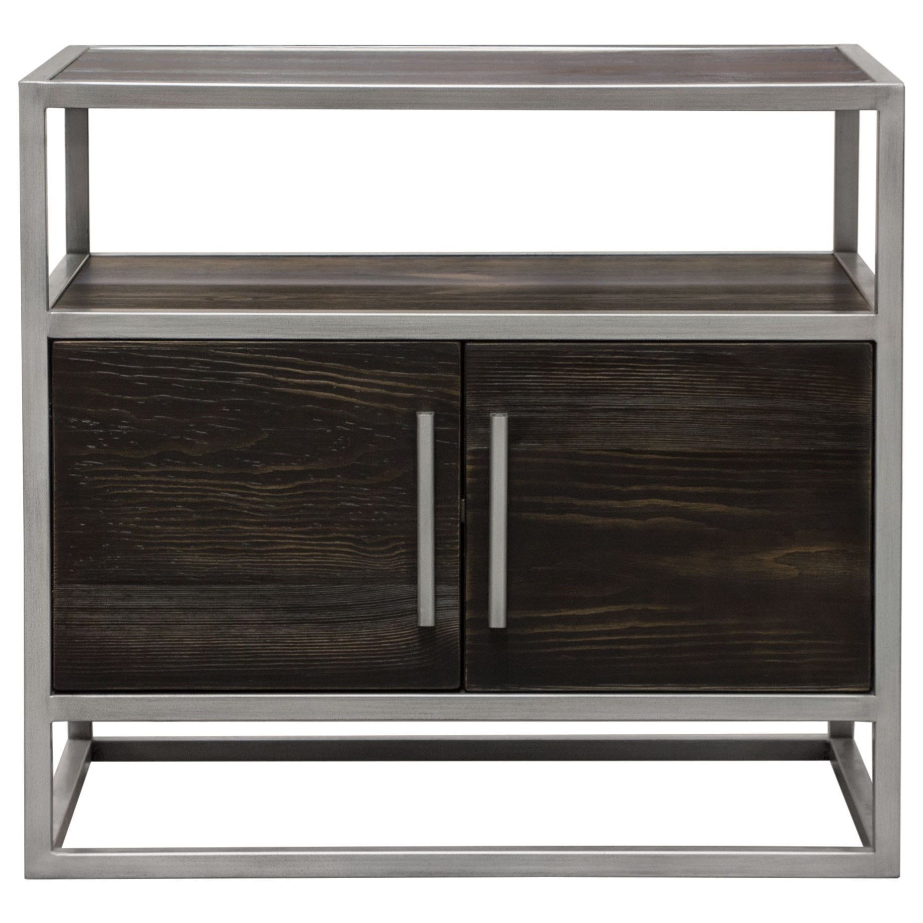 Empire 2-Door End Table by Diamond Sofa at Red Knot