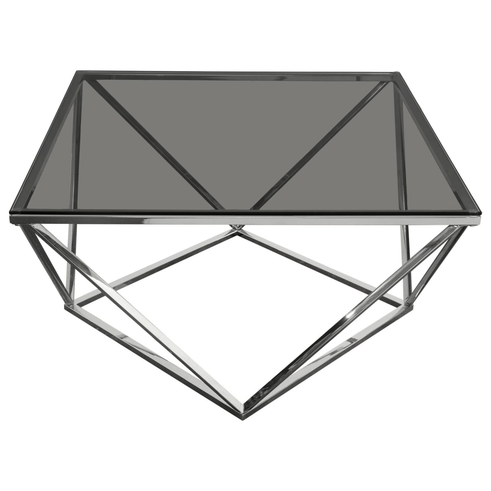 Gem Cocktail Table by Diamond Sofa at HomeWorld Furniture