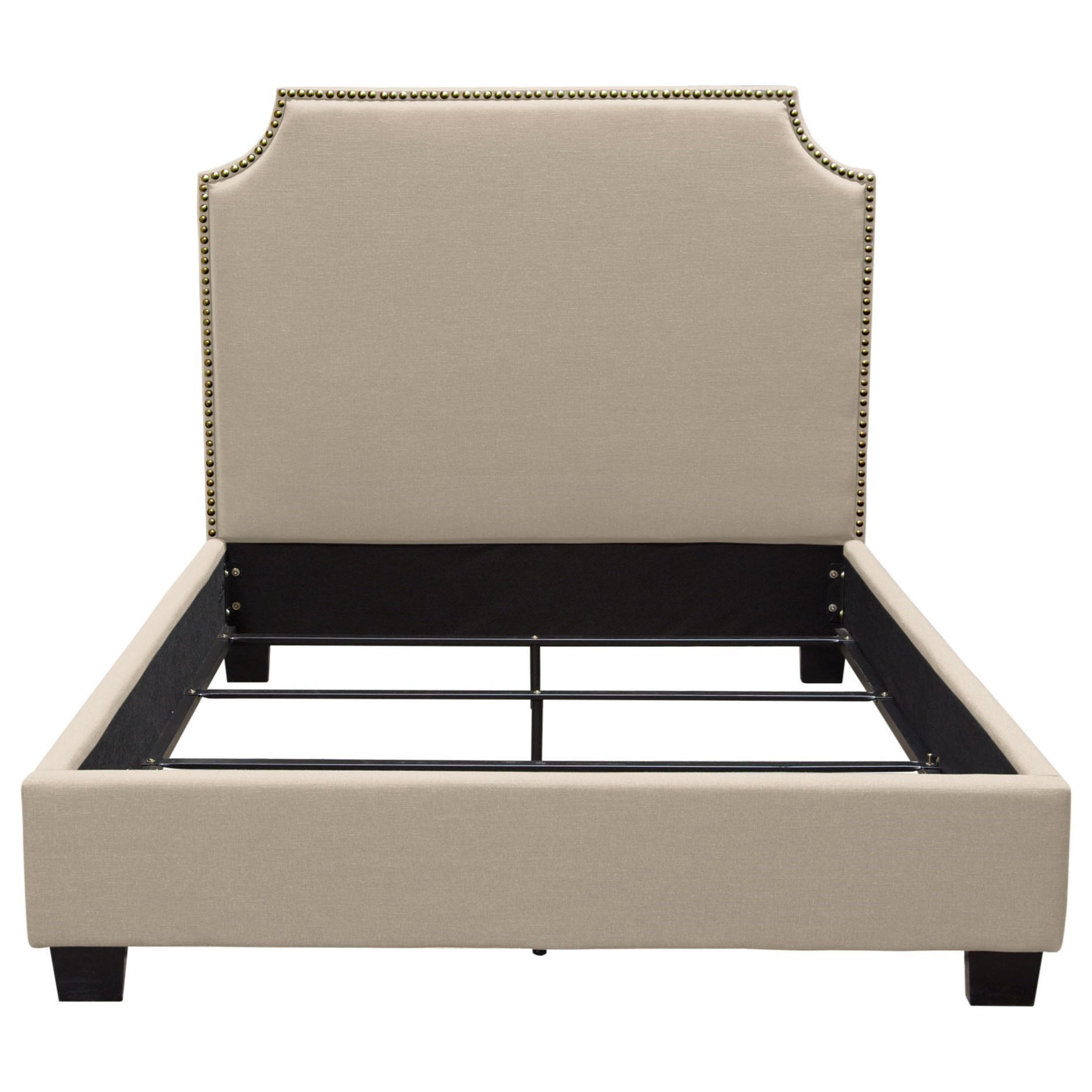 Kingston Queen Bed by Diamond Sofa at Red Knot
