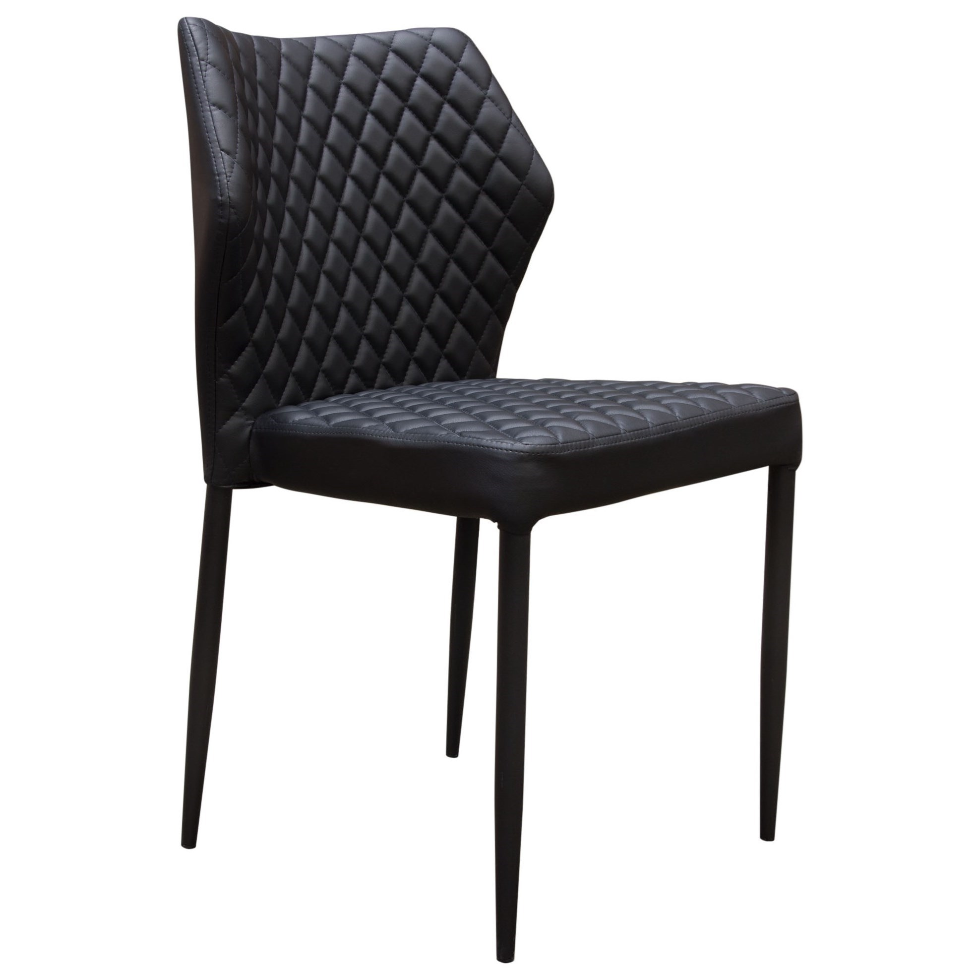 Milo Set of Four Dining Side Chairs by Diamond Sofa at Red Knot