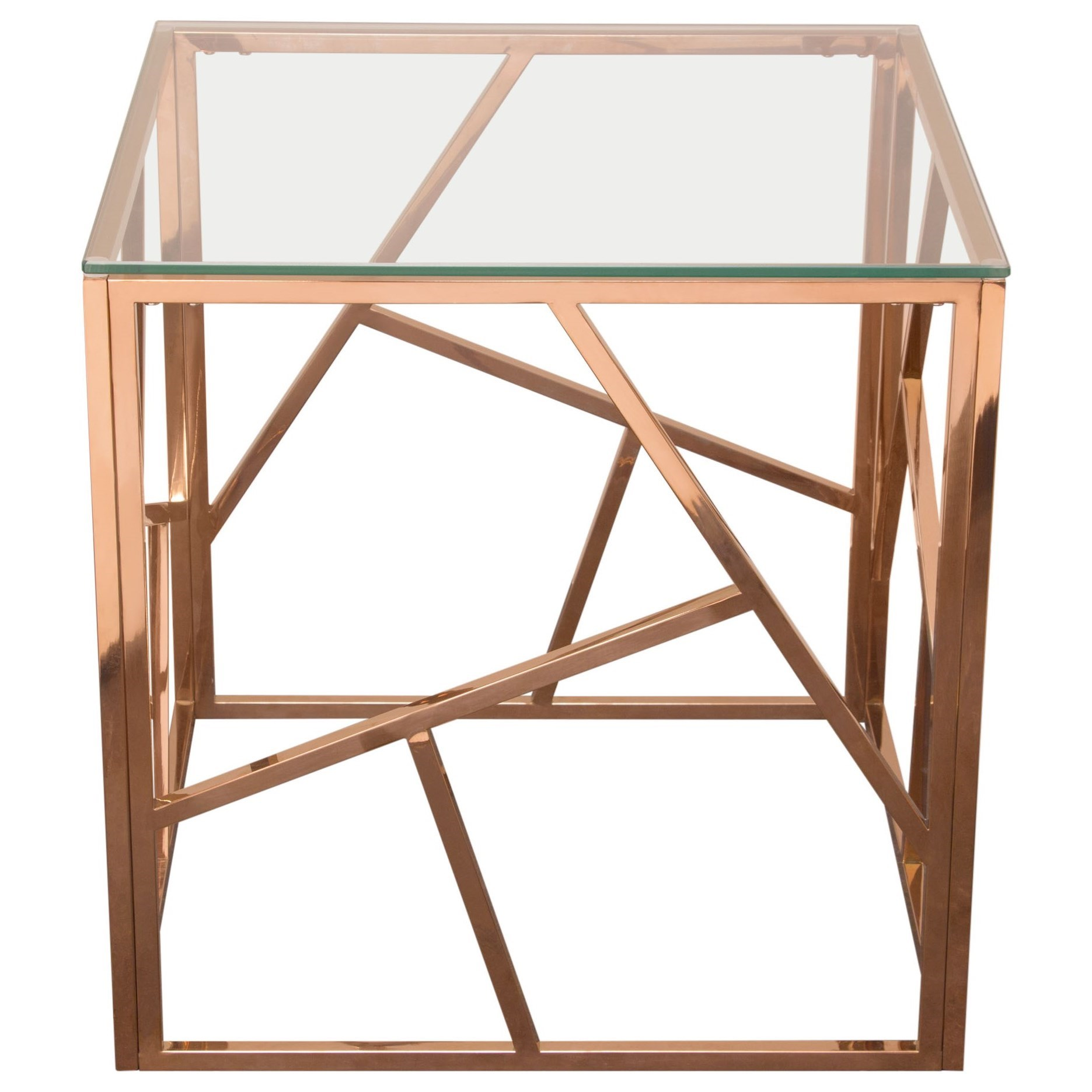 Nest End Table by Diamond Sofa at Red Knot