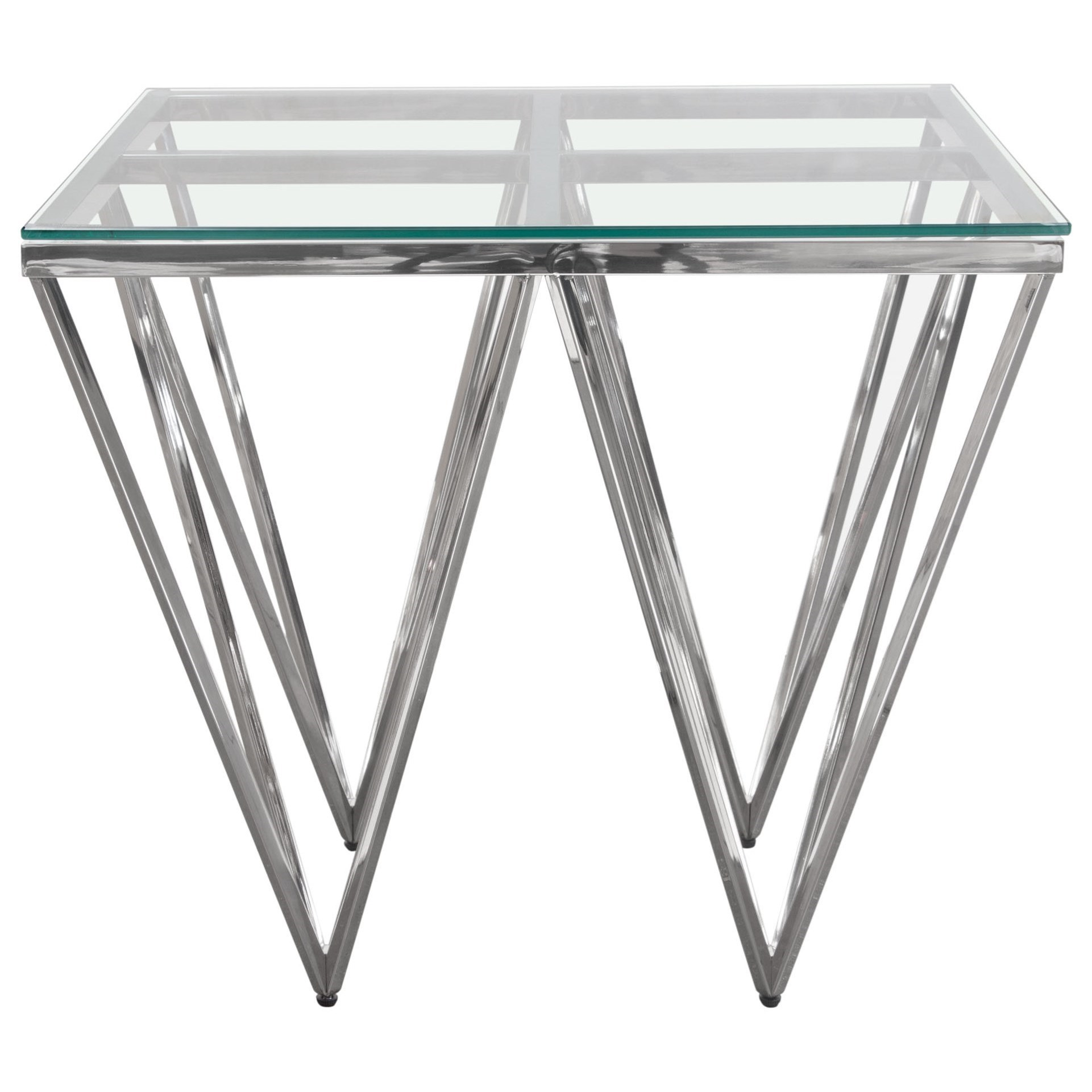 Omni Square End Table by Diamond Sofa at HomeWorld Furniture