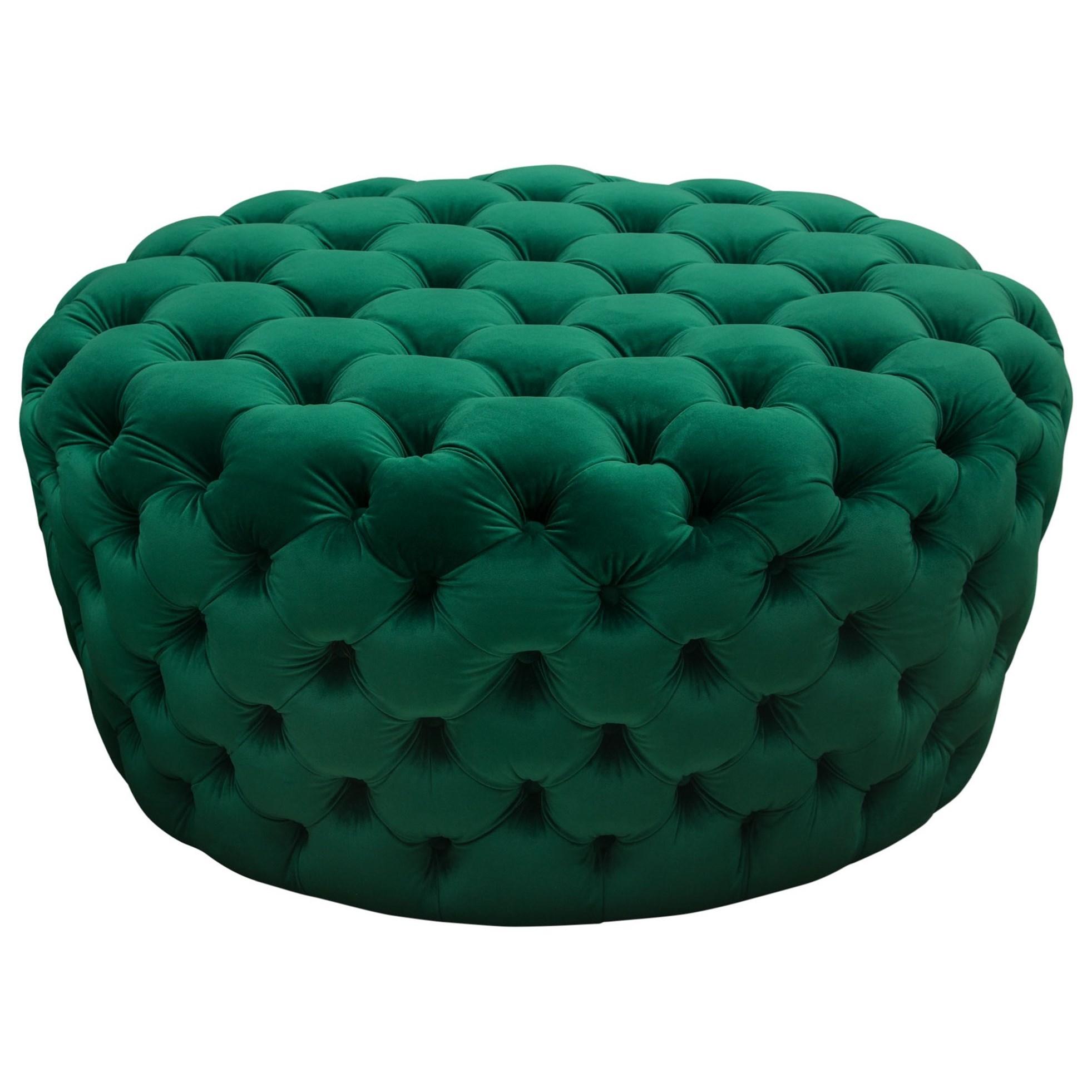 Posh Ottoman by Diamond Sofa at HomeWorld Furniture