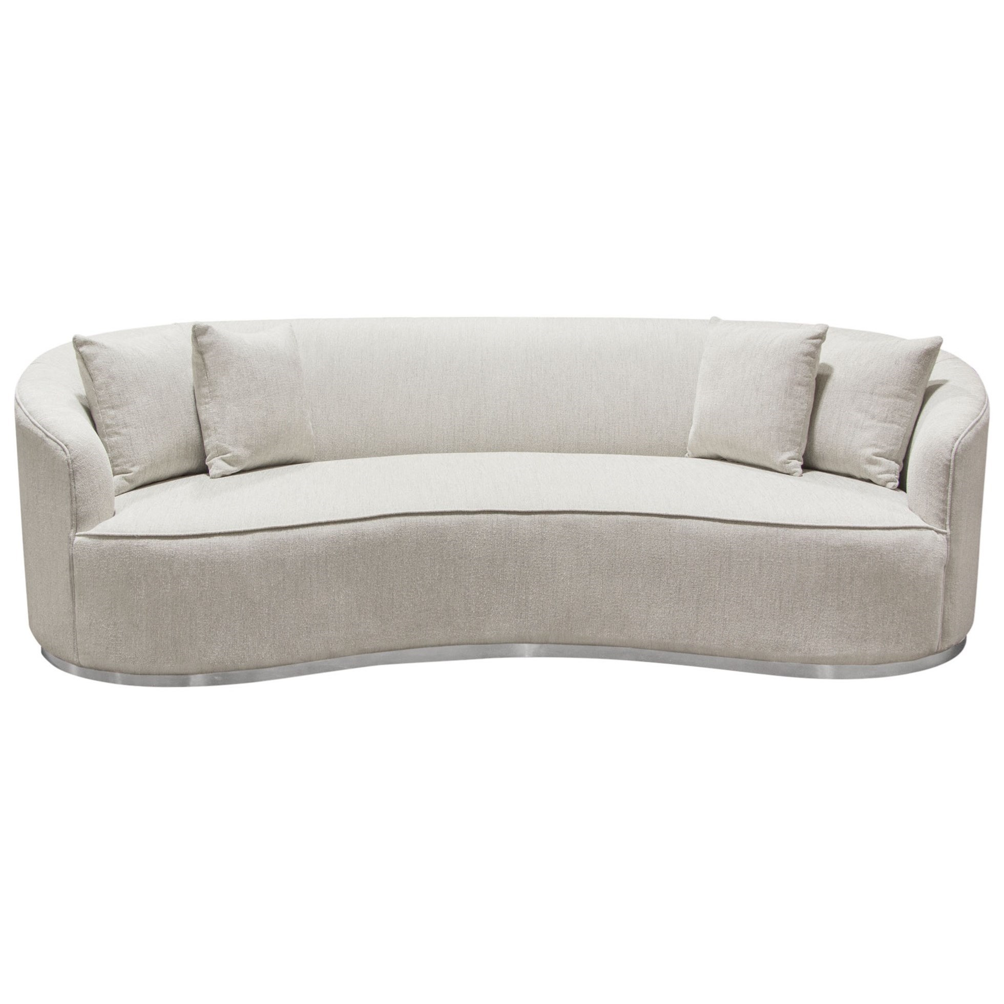 Raven Sofa Brushed with Accent Trim by Diamond Sofa at Red Knot