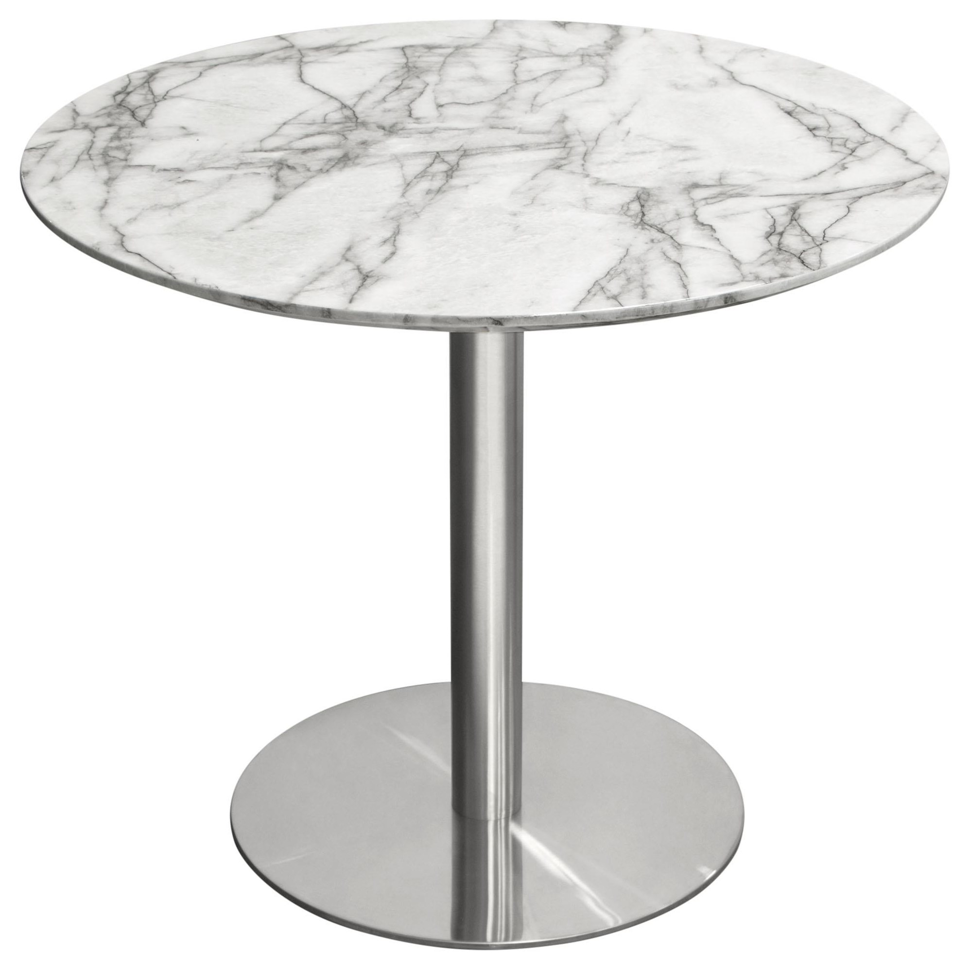 Stella Round Dining Table by Diamond Sofa at Red Knot