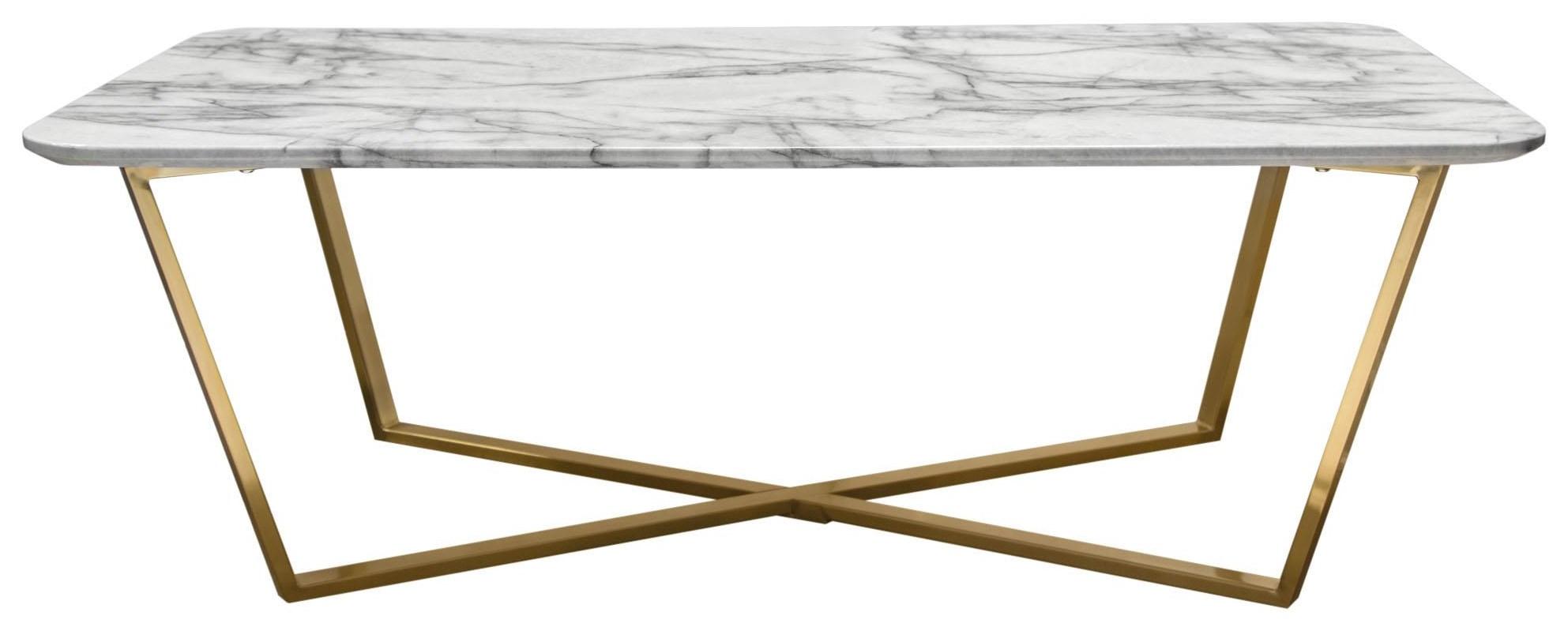 Vida Rectangular Cocktail Table by Diamond Sofa at Red Knot