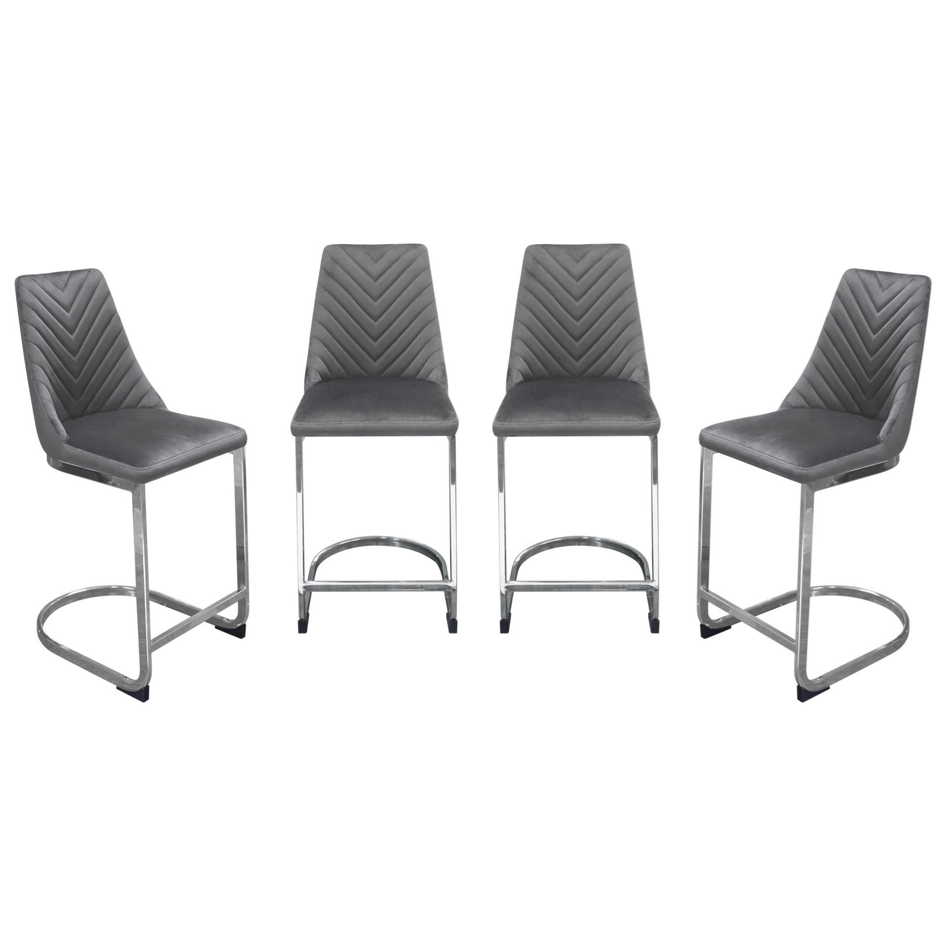 Vogue Counter Height Chairs by Diamond Sofa at Red Knot