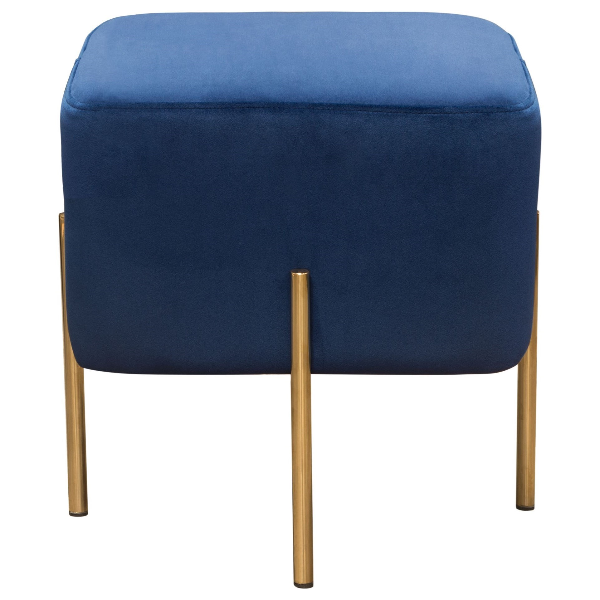 Zoe Ottoman by Diamond Sofa at Red Knot