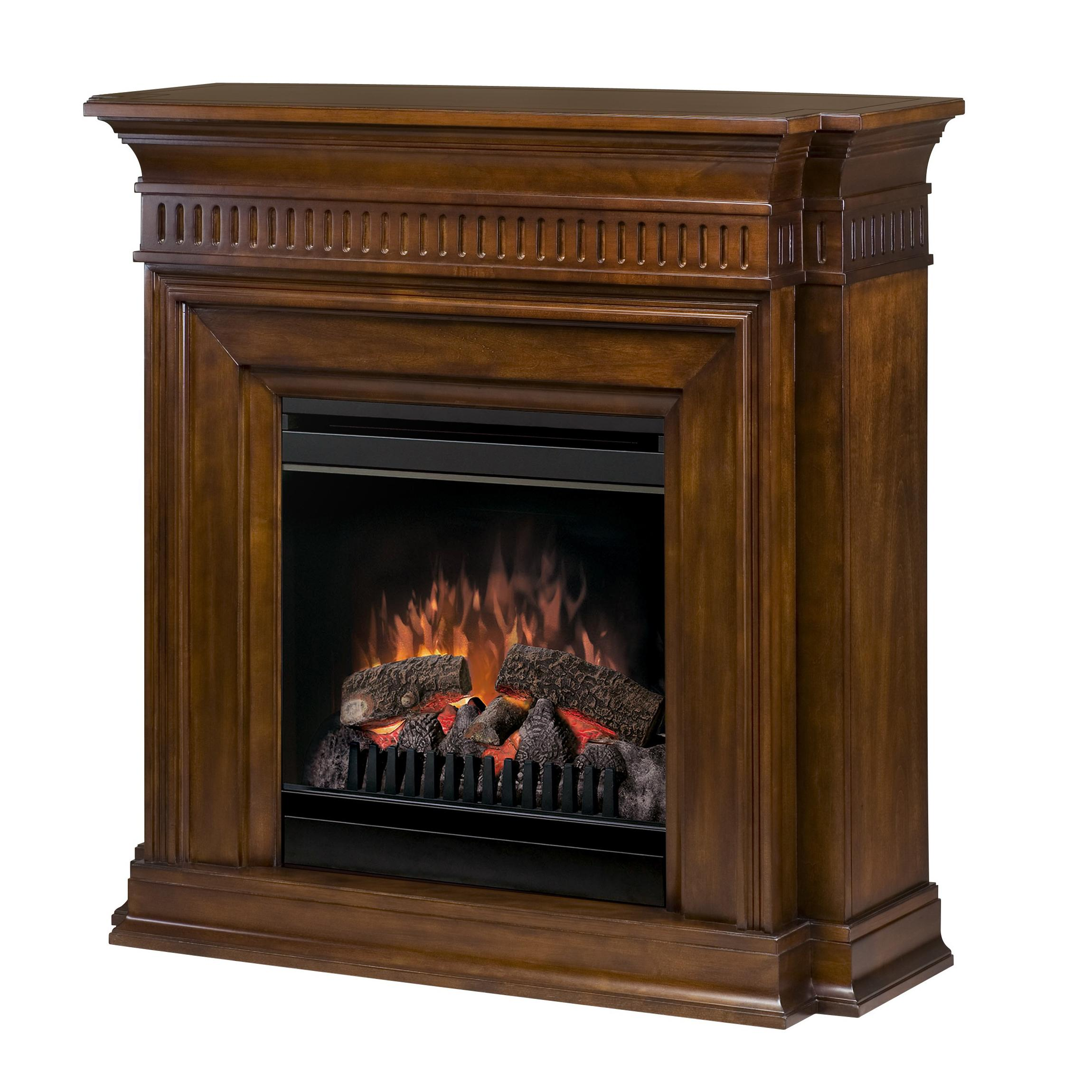 Flat-Wall Fireplaces Troy Electric Fireplace by Dimplex at Jordan's Home Furnishings